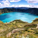 Quilotoa Kratersee